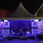 Bühne, Ton, Licht/Illumination und Stromversorgung zum GanterLeuchten 2015 in Ganderkesee