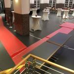 Roter Teppich für den Stadtempfang 2015 in der Markthalle in Delmenhorst